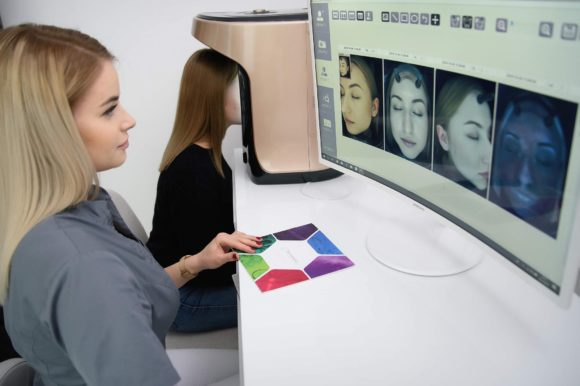 Bezpłatne komputerowe badanie skóry